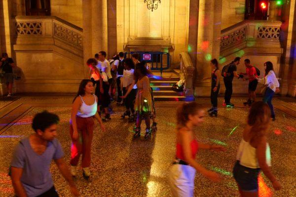 photo Apéro roller party Fac