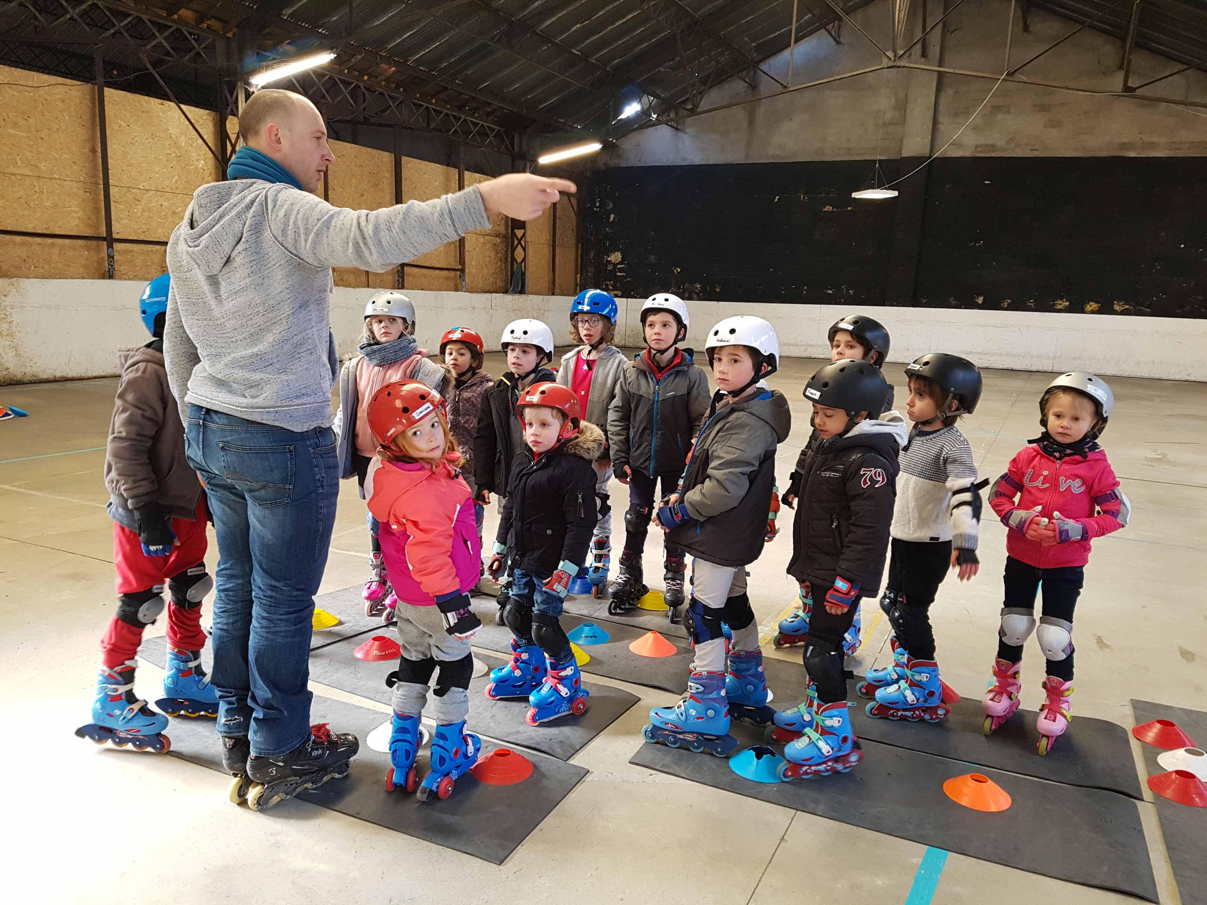 Cours de roller pour enfant à Bordeaux