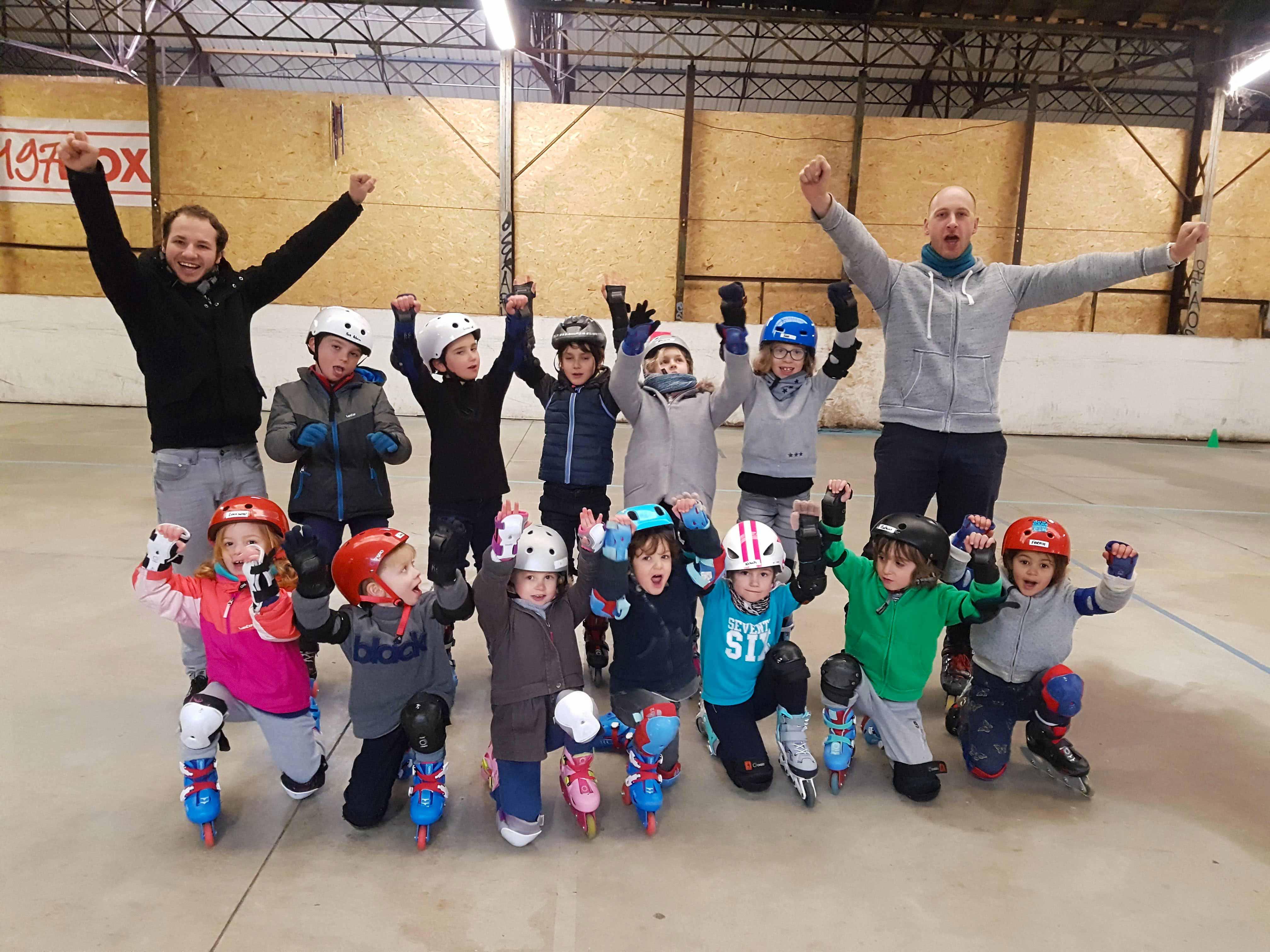 Cours de roller enfant à Bordeaux